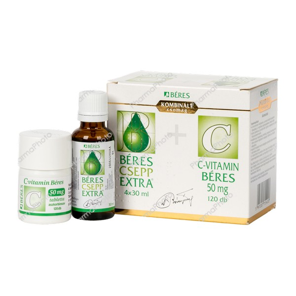 Beres Csepp Extra bels.old.cseppC vitamin 50 mg 4x30ml120x529868 2020 tn