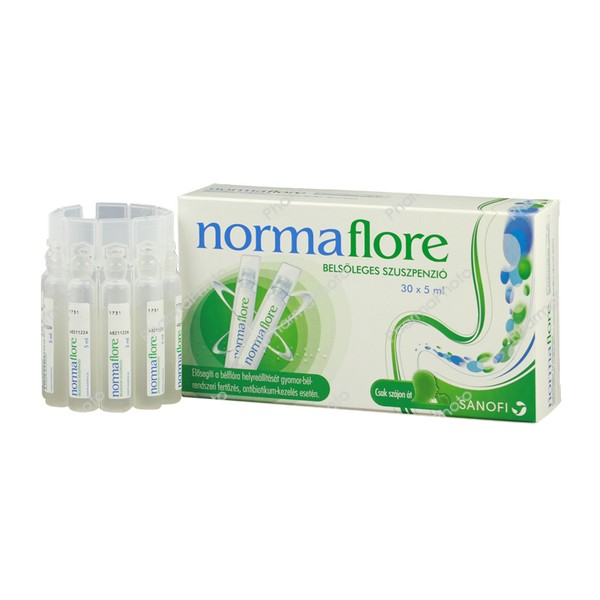 Normaflore belsoleges szuszpenzio 30x5ml126742 2016 tn